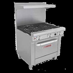 Restaurant Ranges with Standard Oven(s)